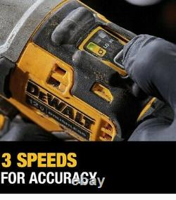 12-Volt Variable Speed Brushless Cordless High Impact Driver Gun Wrench Torque