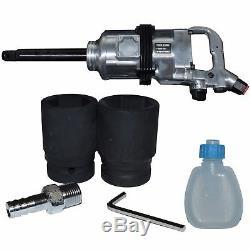 1 dr Air Impact Wrench Gun 38/41 Sockets 2200Nm/1620ftlbs Anvil Hammer