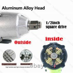 21V Cordless Impact Wrench Gun 1/2 Inch Driver Sockets Tool Carry Bag / Battery