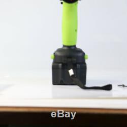 2PC 6.0Ah Battery 460Nm 1/2Impact Cordless Wrench Rattle Nut Gun DIY Power Tool