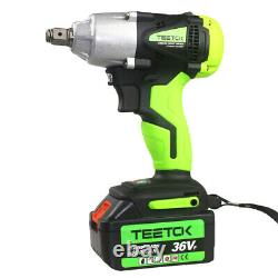 2in1 Cordless Impact Wrench 1/2 1/4 Impact Driver Ratchet Rattle Nut Gun 21V