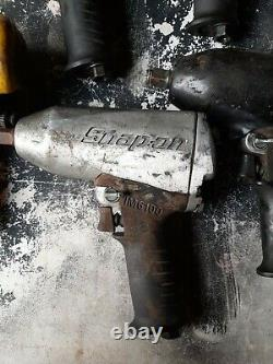 5X snap on 1/2 air impact wrench Impact Gun IM6100 lot used all spin