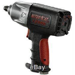 AirCat 1250K 1/2 Drive Composite Impact Gun Wrench 200-950 ft/lbs Torque