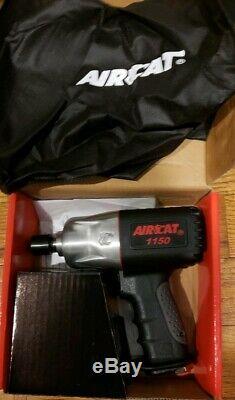 Aircat 1150 Killer Torque 1/2 Drive Twin Hammer Impact Gun Wrench
