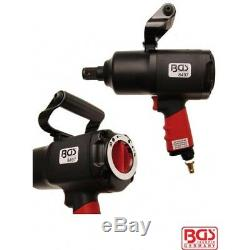 BGS Germany 1 Drive Air Tools Impact Driver Wrench Rattle Gun 2034Nm 1500FT/LBs