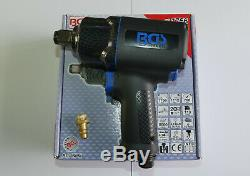 BGS Germany AAA Twin Hammer 3/4 Drive 1/4 Air Impact Driver Wrench Rattle Gun