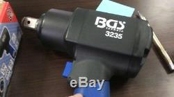 BGS Germany Powerfull 3/4drive 1/4 Air Tools Impact Driver Wrench Rattle Gun