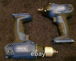 Blue Point 14.4V Impact Gun/Wrench +Drill inc Charger (batteries need referbing)