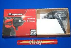 Brand NEW Snap-On Tools 1/2 Drive Gun Metal Grey Air Impact Wrench PT850GM