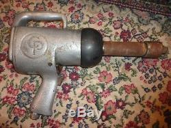 CP Chicago Pneumatic 1 Impact Gun IMPACT WRENCH HEAVY DUTY Air Tool Vintage USA