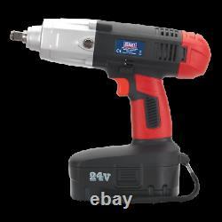 Cordless Impact Wrench 1/2 Drive Heavy Duty Battery Impact Gun 550Nm SEALEY