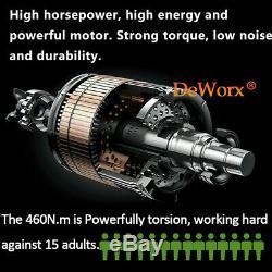 Cordless Impact Wrench 1/2 Driver Ratchet Rattle Nut Gun 21V 6.0A Li-ion 460Nm