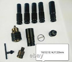 Cordless Impact Wrench 6.0A Li-ion 1/2 Impact Drive Ratchet Rattle Nut Gun 20V