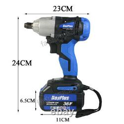DAYPLUS 23048 21V 1/2 Drive Cordless Impact Wrench Gun Or Spare Battery UK