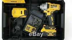 DeWALT DCF894P2 18V 1/2 Cordless Brushless Hi-Torque Impact Gun/Wrench 2x 5.0Ah
