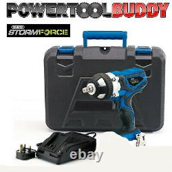 Draper 82983 Storm Force Impact Wrench with Charger and Case
