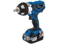 Draper CIW20LISF 20V cordless Impact Wrench gun 2 x 3.0 Ah LI-ION Batteries Case