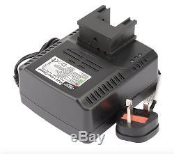 Draper EXPERT 19.2V CORDLESS 1/2 SQ. DR. Nut Gun IMPACT WRENCH 2 Battery 519N