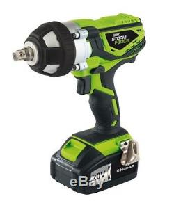 Draper Storm Force 20v Cordless 1/2 Impact Wrench Gun 01031 FAST AND FREE