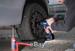 Ferm Cordless Impact Wrench Gun 18V Lithium Li-Ion Battery DIY Socket Case