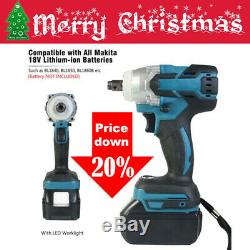 For Makita Battery DTW 250 Torque Brushless Cordless Impact Wrench Gun UK STOCK