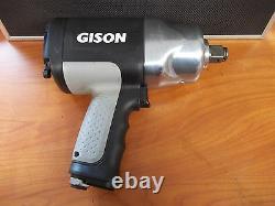 Gison 3/4 Composite Pneumatic Air Impact Wrench Gun GW-28SR 1,400 ft. Lb