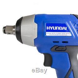 Impact Driver Wrench Nut Gun Cordless 18V 1/2 LED Light & Battery Included