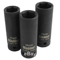 Kielder 18v 1/2 Inch Cordless Impact Wrench Gun 700NM Torque + FREE SOCKETS