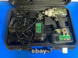 Kielder 18v 700Nm 1/2 Inch Cordless Impact Torque Wrench Gun 2 x 4.0Ah Li-on