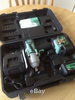 Kielder Impact Wrench 18V 1/2 Inch Cordless Gun 700Nm 2x 4.0 Lithium Battery