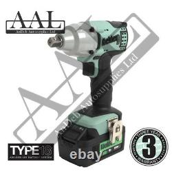 Kielder Impact Wrench Gun 1/2 Square 18v 430NM Torque KWT-002 3YR Warranty