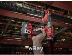 MILWAUKEE Brushless 1/2 in Impact Wrench M18 18 Volt Cordless Compact Torque Gun