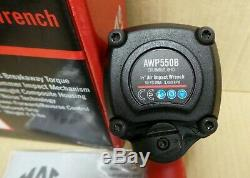 Mac Tools 1/2 Drive Impact Wrench Air Gun Twin Hammer (AWP550B) NEW