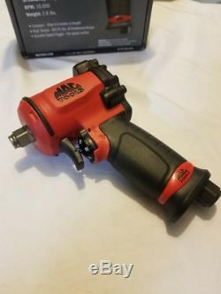Mac Tools 1/2 Drive Stubby Small Impact Wrench AWP050M Air Windy Buzz Gun