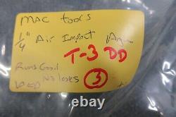 Mac Tools 1/4 Air Pneumatic Angle 90 Deg Impact Gun Wrench AWP AR Automotive
