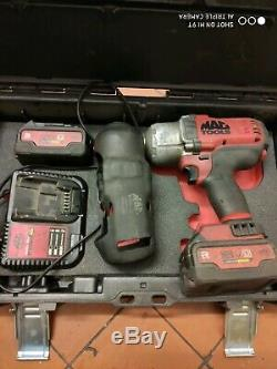 Mac Tools impact gun wrench bwp 151 with 5ah batteries