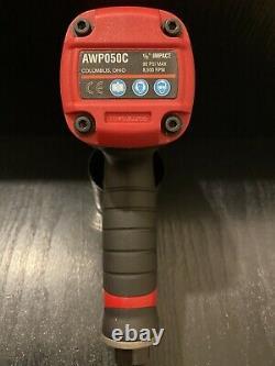 Mac tools AWP050C Titanium 1/2 drive Compact Air Impact Wrench Gun 3 Speed