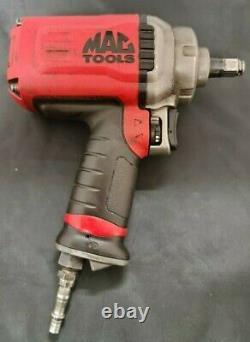 Mac tools AWP050 Titanium 1/2 drive Compact Air Impact Wrench Gun 3 Speed