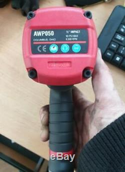 Mac tools air impact gun awp050 1/2 wrench Titanium NEW