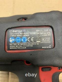 Mac tools impact gun Wrench 3/8 1/2 Kit