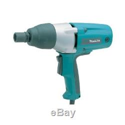 Makita 110v 1/2 Impact Wrench Tw0350 Impact Gun In Carry Case