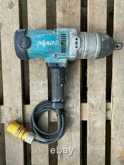 Makita TW1000 1 Impact Wrench Gun Nut Runner Wrench 110v