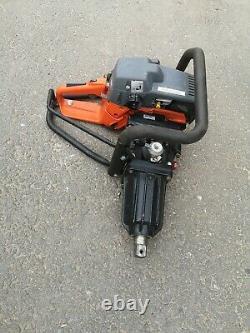 Master Airtec 35 Petrol 1 Inch Impact Wrench Nut Gun Nut Runner Vgc