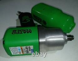 Matco MT2769 1/2 Heavy Duty Air Impact Wrench Gun 7500 RPM Green
