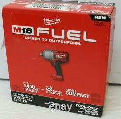 Milwaukee 2767-20 M18 FUEL 1/2 Drive Impact Wrench Gun WithFRICTION RING