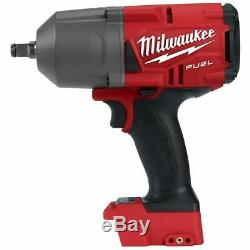 Milwaukee 2767-20 M18 FUEL 1/2 Drive Impact Wrench Gun with 5.0 Battery
