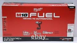 Milwaukee 2767-22GG M18 FUEL High Torque 1/2 Impact Wrench with Grease Gun NEW