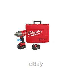 Milwaukee Impact Wrench Kit, M18 One Key High Torque Gun, power tool, shop tools