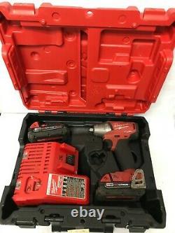 Milwaukee M18 FUEL 18 Volt 3/8 Drive Compact Impact Gun Wrench 2754-22CT G