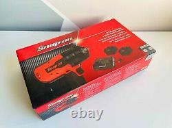 NEW Snap On 18 V MonsterLithium Cordless Gun Metal Impact Wrench Kit CTU9075GM